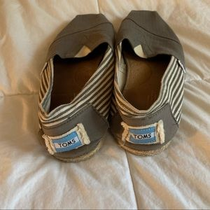 TOMS Striped Shoes